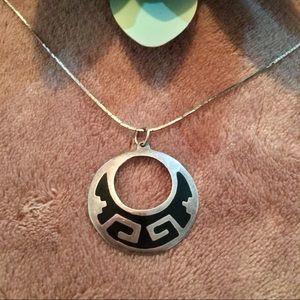 Native American Hopi Sterling Silver Pendant